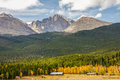 Longs Peak in the Rocky Mountains Royalty Free Stock Photo