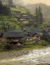 Longsheng near Guilin - China Royalty Free Stock Photo