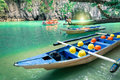 Longtail Boats At Cave Entranc...