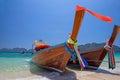 Longtail boats, Thailand Royalty Free Stock Photo