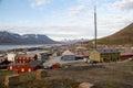 Longyearbyen Spitsbergen, Svalbard, Norway Royalty Free Stock Photo
