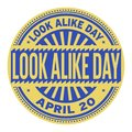 Look Alike Day Stamp