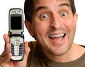 Look at my Cell Phone Stock Images