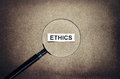 Looking ethics Royalty Free Stock Photo