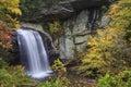 Looking Glass Falls in North Carolina Royalty Free Stock Photo