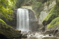 Looking Glass Falls Royalty Free Stock Photo