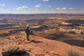 Looking Out Over the Canyonlands Royalty Free Stock Photo