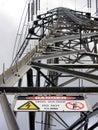 Power Pylon Royalty Free Stock Photo