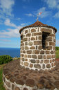 Lookout in azores island portugal Stock Photos
