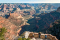 Lookout in Grand Canyon Royalty Free Stock Photo