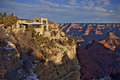 Lookout Studio at Grand Canyon Royalty Free Stock Photo