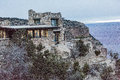 Lookout Studio @ Grand Canyon Royalty Free Stock Photo