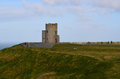 Lookout Tower on the Cliffs of Moher Royalty Free Stock Photo