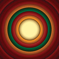 Looney tunes style circle abstract background shape Stock Photos