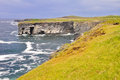 Loop head cliffs, Ireland Royalty Free Stock Photos