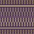 Loop seamless pattern purple modern Stock Image