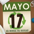 Loose-leaf Calendar with Recyclable Materials around it for Recycling Day, Vector Illustration