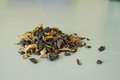 Loose Leaf Oolong Tea Royalty Free Stock Photo