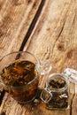 Loose tea on the table Stock Photo