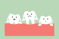 Loose tooth Royalty Free Stock Photo