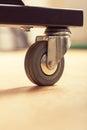 Loose wheel of industrial cart
