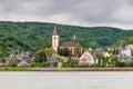Lorch am Rhein, Germany Royalty Free Stock Photo