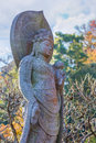 Lord of compassion at haseder temple in kamakura kannon is the comes many forms and as male or female Royalty Free Stock Images