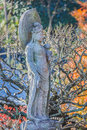 Lord of compassion at haseder temple in kamakura kannon is the comes many forms and as male or female Stock Photo