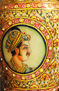 Indian Mughal Mural Royalty Free Stock Photo