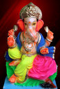 Lord Ganesha - Royalty Free Stock Image