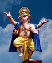 Lord Ganesha - dancing Stock Photography