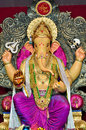 Lord Ganesha at Mumbai Royalty Free Stock Photo
