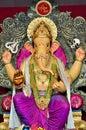 Lord Ganesha at Mumbai Royalty Free Stock Photo