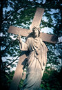 Lord jesus holy cross of the Stock Images