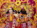 Lord Krishna Stockbilder