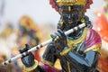 Lord Krishna, handicraft items on display , Kolkata Royalty Free Stock Photo