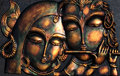 Lord Krishna And His Ladylove