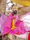 Lord Krishna Statue Royalty Free Stock Photo