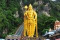 Lord Murugan Statue, Batu Caves, Selangor, Malaysia. Royalty Free Stock Photo