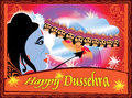 Lord rama killing ravana.happy dussehra