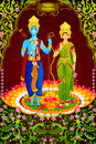 Lord Rama and Sita for Happy Dussehra background