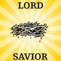 Lord Savior Thorn Crown