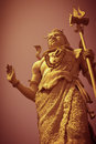 Lord shiva statue of in haridwar india Stock Photography