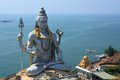 Lord Shiva Statue in Murudeshwar, India. Stock Image