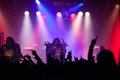 Lordi dez meatfactory praha prague concert pictures Royalty Free Stock Photo