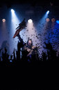 Lordi dez meatfactory praha prague concert pictures Stock Photography