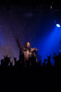 Lordi dez meatfactory praha prague concert pictures Royalty Free Stock Images