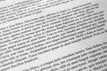 Lorem Ipsum text paragraphs Royalty Free Stock Photo
