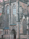 Lorenz Kirche, Nuernberg Royalty Free Stock Photography