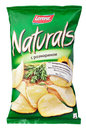 Lorenz Naturals with rosemary potato chips bag isolated on white Royalty Free Stock Photo